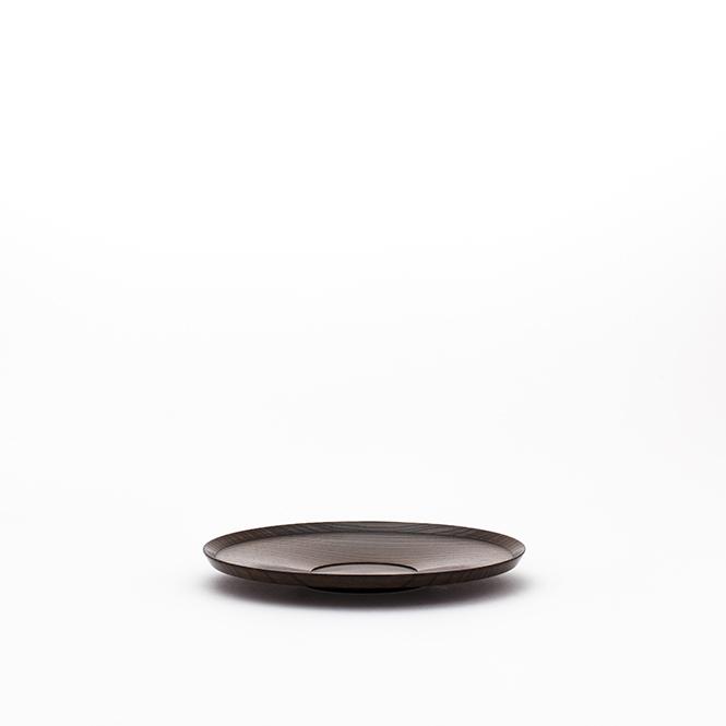 SAUCER (BLACK)/ 茶托(黒)