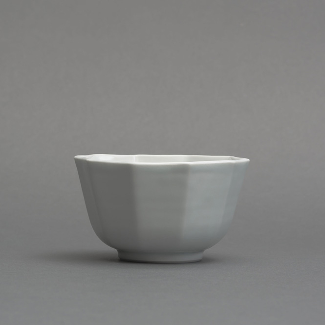 白磁十角小鉢