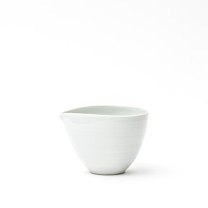白磁輪花 4.5寸皿