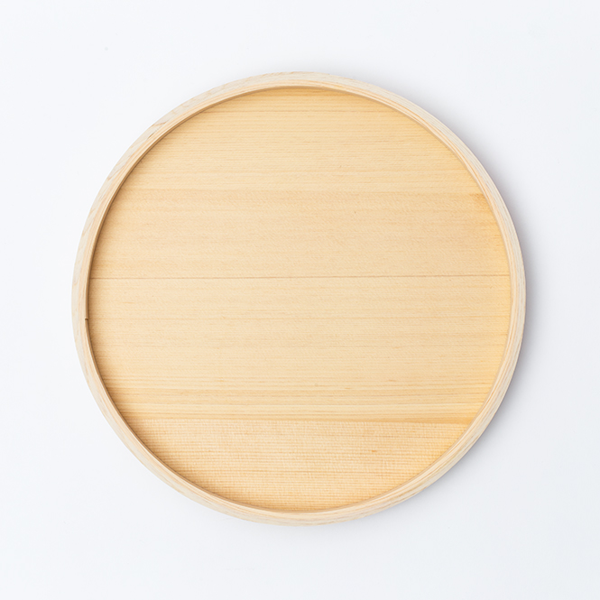 木曽檜木地8寸盆