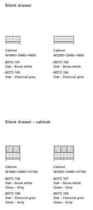 Silent drawer
